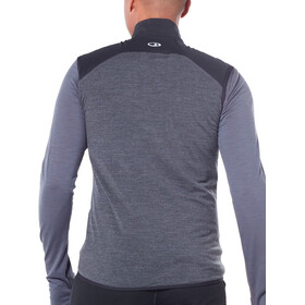Icebreaker Tech Trainer Hybrid - Chaleco running Hombre - gris/negro